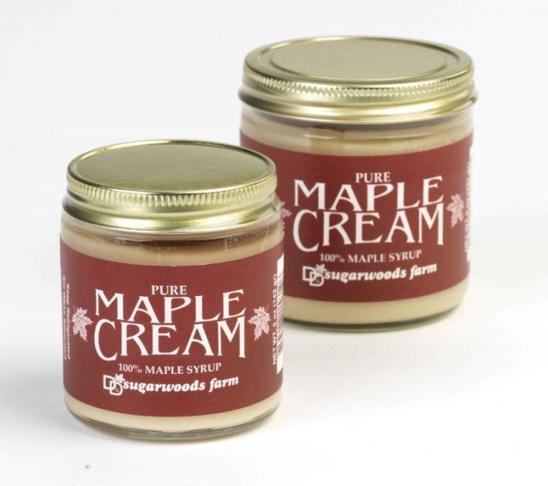 Vermont Maple Cream from 100% maple syrup - D&D Sugarwoods Farm - Glover, Vermont