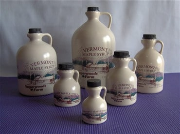 Vermont Maple Syrup in Plastic Jugs - D&D Sugarwoods Farm - Glover, Vermont