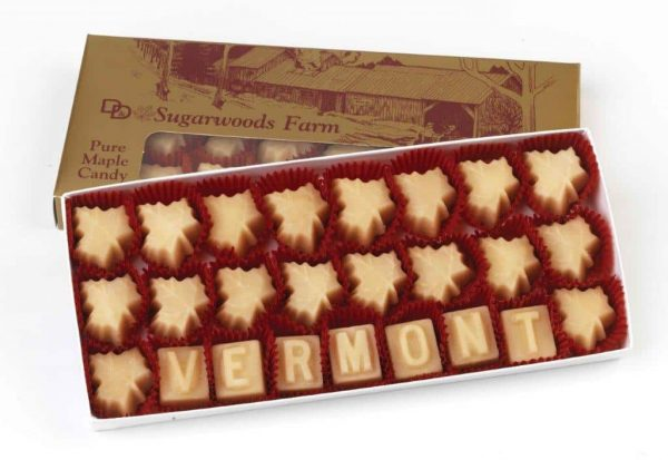 Vermont Box of Maple Candy - D&D Sugarwoods Farm - Glover, Vermont