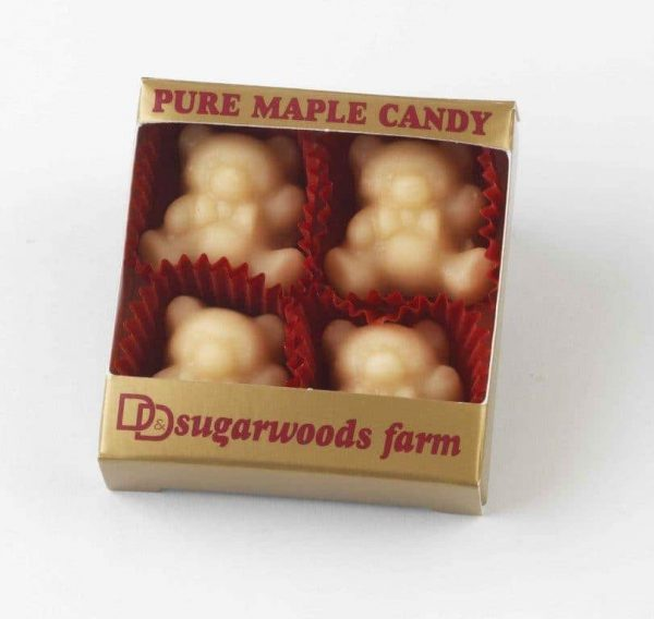 Maple Candy Bears (4) - D&D Sugarwoods Farm - Glover, Vermont