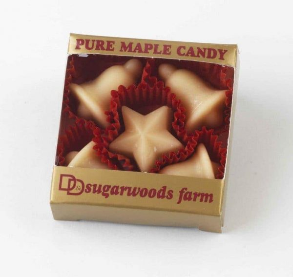 Vermont Maple Candy Bells & Star - D&D Sugarwoods Farm - Glover, Vermont
