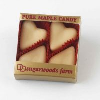 Vermont Maple Candy Hearts - D&D Sugarwoods Farm - Glover, Vermont
