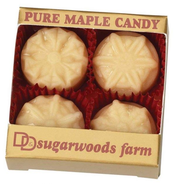 Vermont Maple Candy Snow Flakes - D&D Sugarwoods Farm - Glover, Vermont