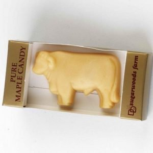 Vermont Maple Sugar Candy Bull - D&D Sugarwoods Farm - Glover, Vermont