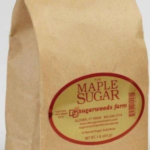 Vermont Maple Sugar in bag - D&D Sugarwoods Farm - Glover, Vermont