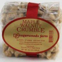 Vermont Maple Walnut Crumble - D&D Sugarwoods Farm - Glover, Vermont