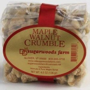 Vermont Maple Walnut Crumble - D&D Sugarwoods Farm - Glover, Vermont