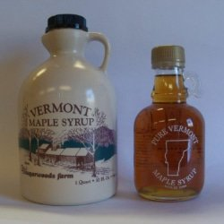 Vermont Maple Syrup - D&D Sugarwoods Farm - Glover, Vermont